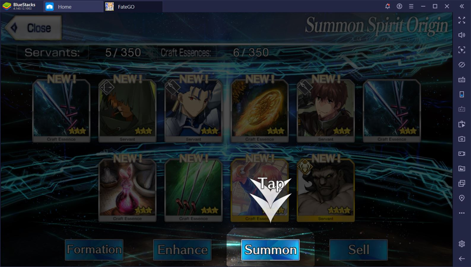 Fate/Grand Order: How to Re-Roll Quickly with BlueStacks