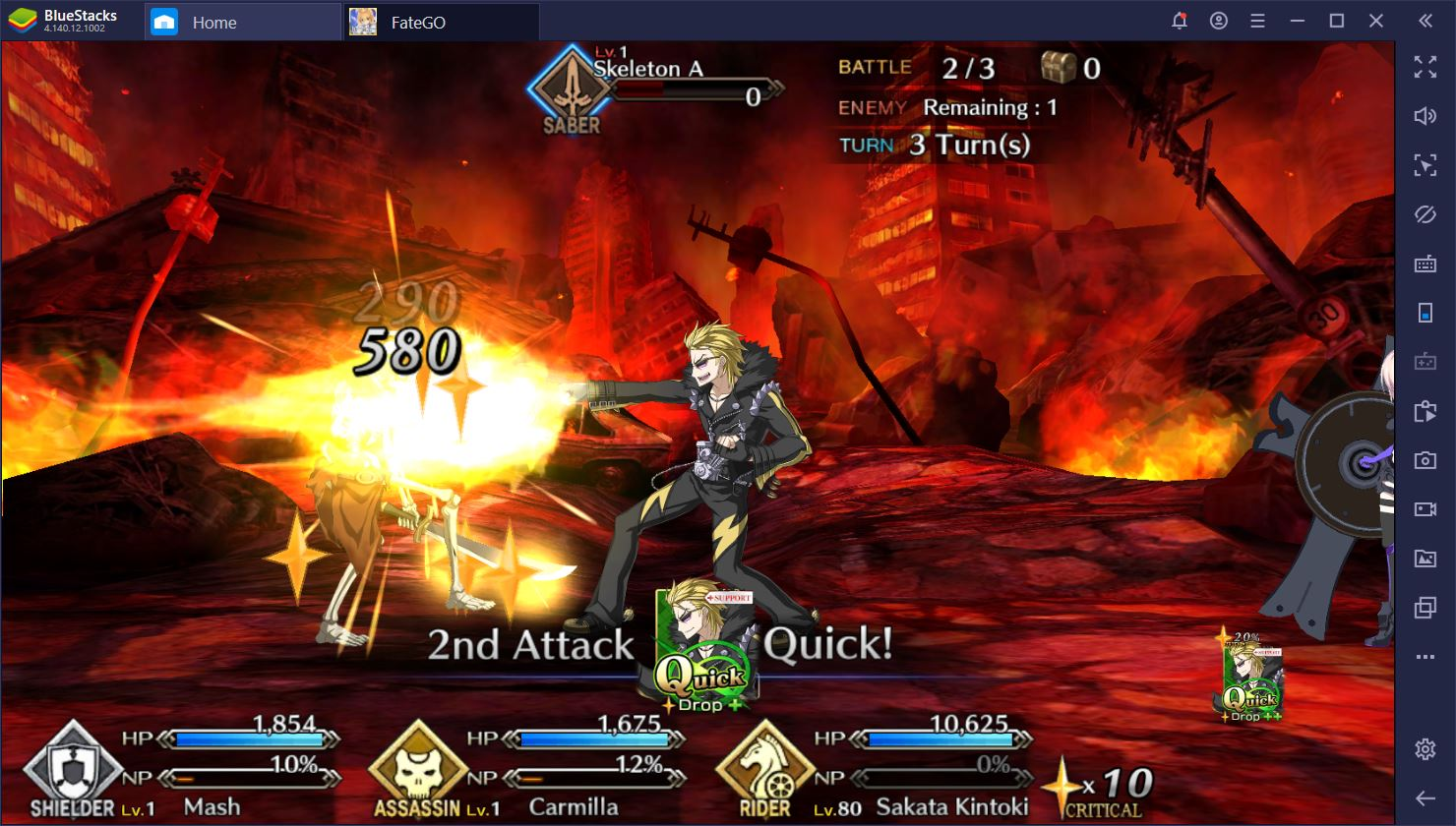 Fate/Grand Order on PC: The Most Useful 4-Star Servants for F2P Players