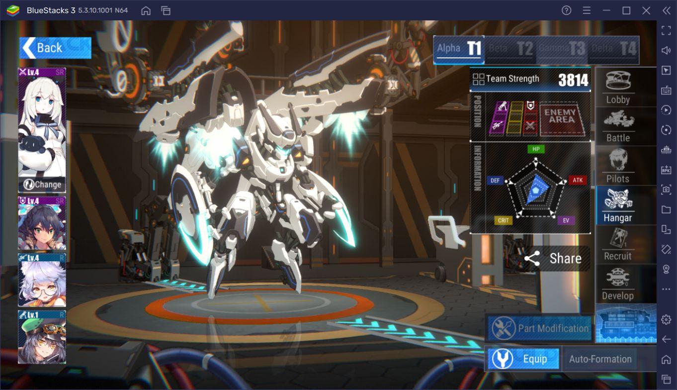 Final Gear BlueStacks İncelemesi: Devasa Robotları Kontrol Edin