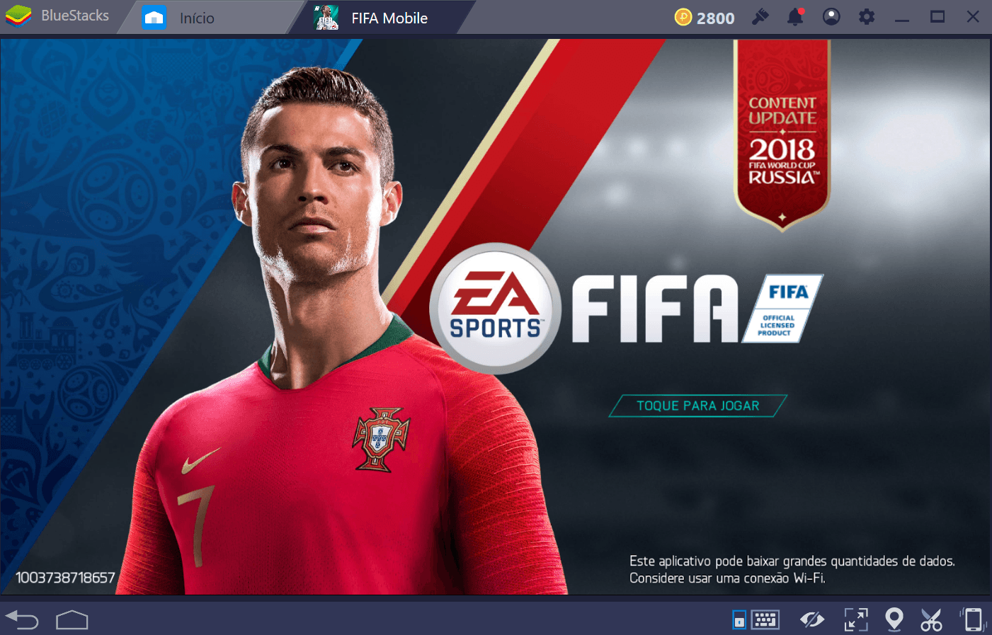 Como Futebol FIFA: FIFA World Cup (FIFA Mobile) entrega um game de futebol free-to-play
