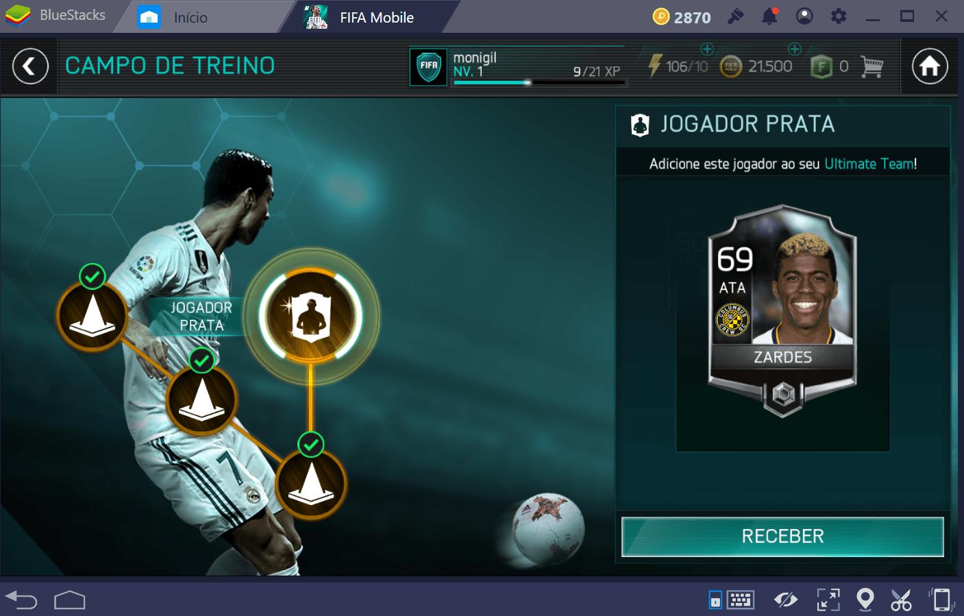 Guia básico para Futebol FIFA: FIFA World Cup (FIFA Mobile)