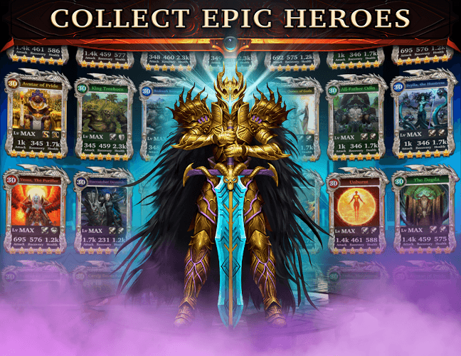 Играй Legendary Game of Heroes На ПК 3