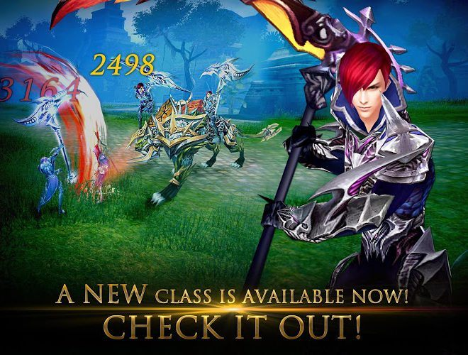 Play Forsaken World Mobile MMORPG on PC 8