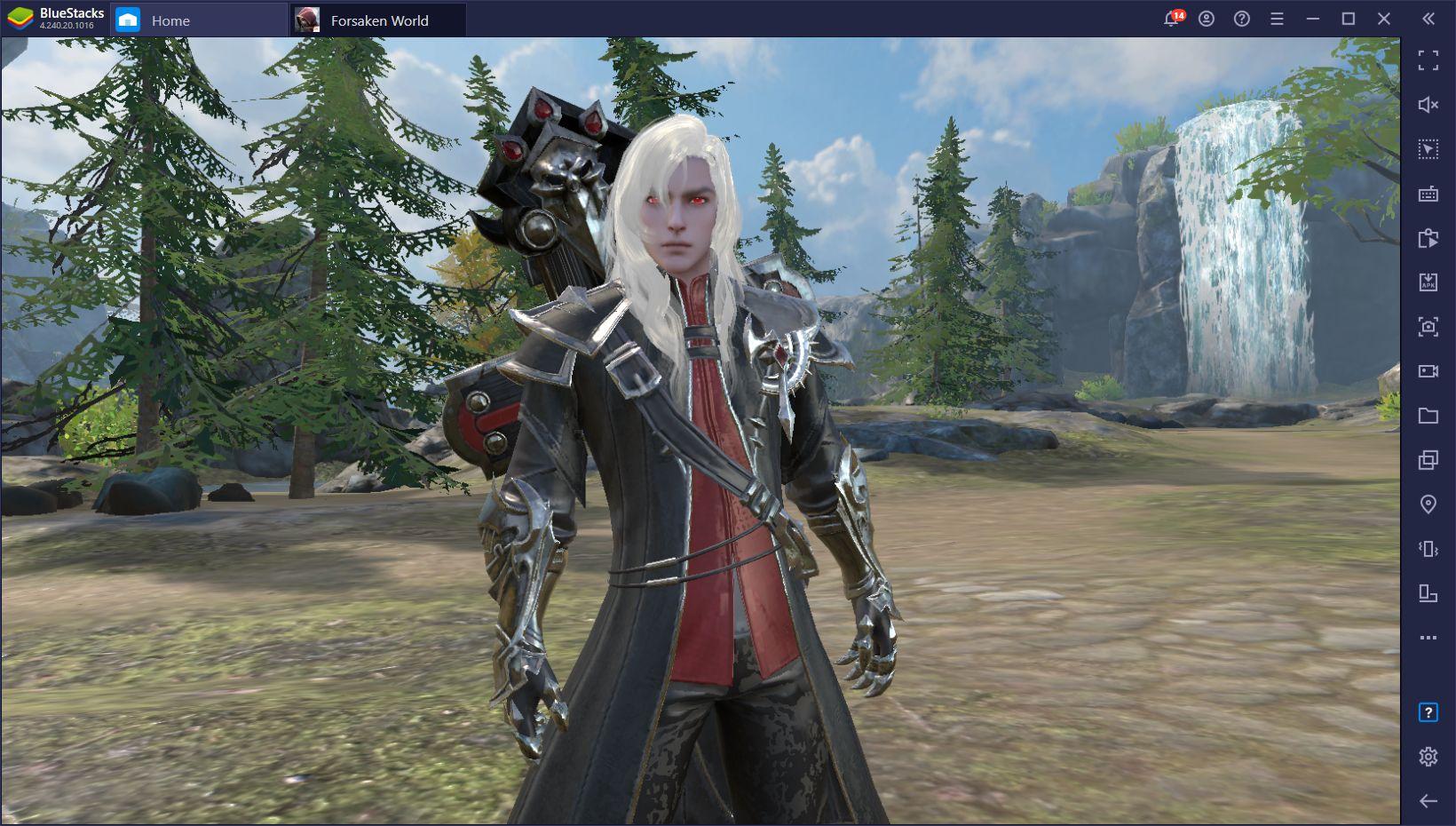 Forsaken World:Gods and Demons désormais disponible sur PC avec BlueStacks