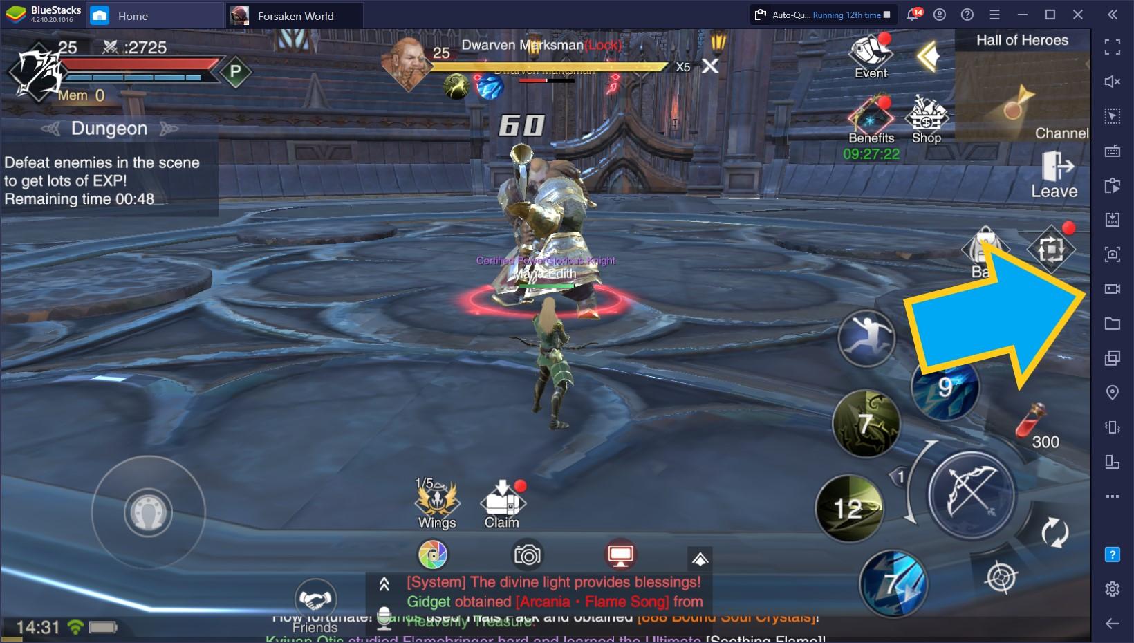 Forsaken World:Gods and Demons sur PC – Comment utiliser les fonctionnalités BlueStacks pour améliorer l'expérience de jeu