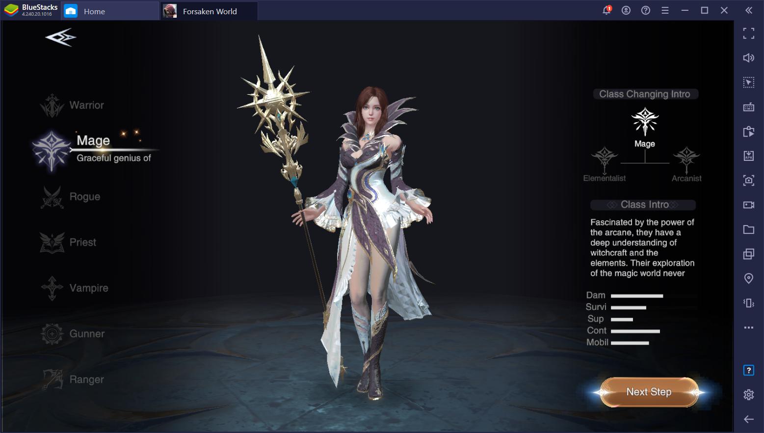 Cara Download dan Main MMORPG Forsaken World: Gods and Demons Dengan Menggunakan BlueStacks