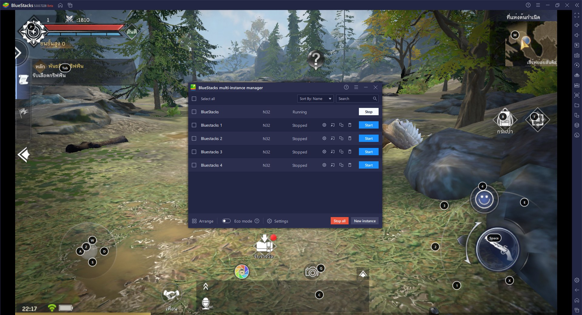 วิธีเล่น Forsaken World: Mobile TH บน PC และ Mac ผ่าน BlueStacks