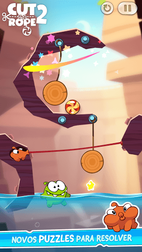 Jogue Cut The Rope 2 on pc 19