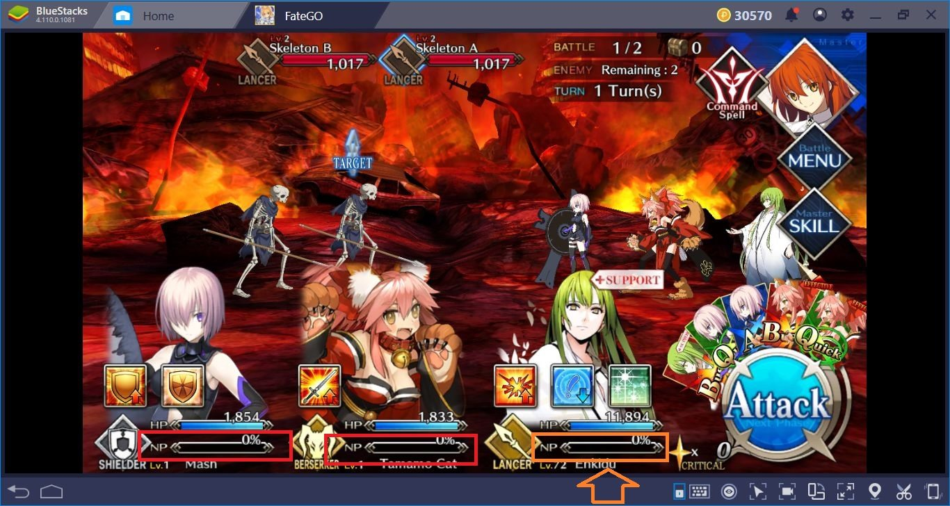 The Battle System Of Fate/Grand Order: Let's Play Some Cards