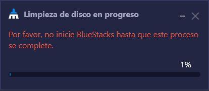 Limpieza de Disco - Cómo Liberar Espacio en BlueStacks