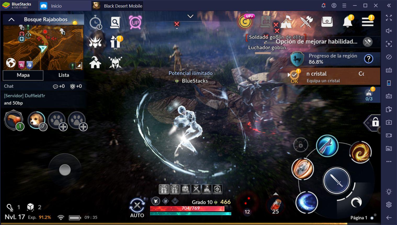 Controles de Juego de BlueStacks - Juega Juegos de Android en PC con Mouse y Teclado o Mando