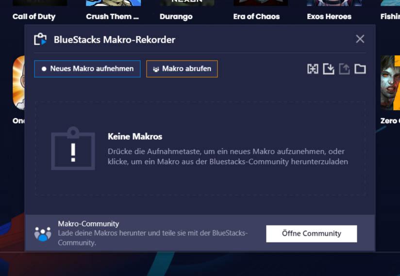 BlueStacks-Makros – Das Wunder der Automatisierung
