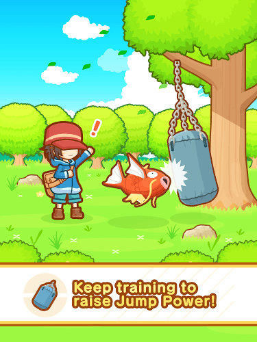 Play Pokémon: Magikarp Jump on pc 8