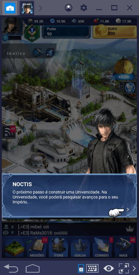Guia de construções em Final Fantasy XV: A New Empire