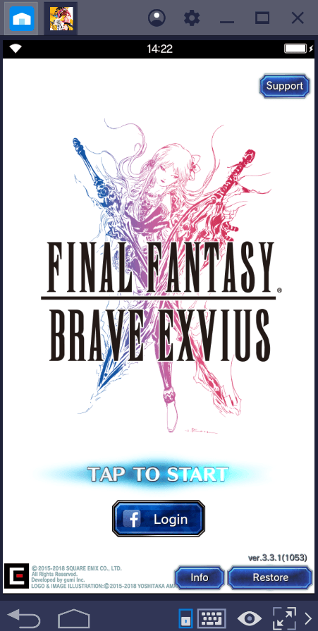 Final Fantasy Brave Exvius ganha um up com BlueStacks 4.2 e seu novo Combo Key.