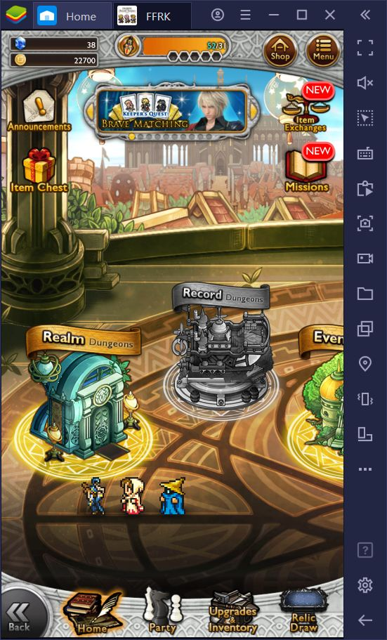 Final Fantasy Record Keeper PC – How to Play This FF Mobile Game
