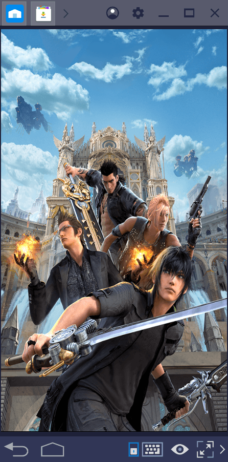 Progredindo rápido em Final Fantasy XV: A New Empire
