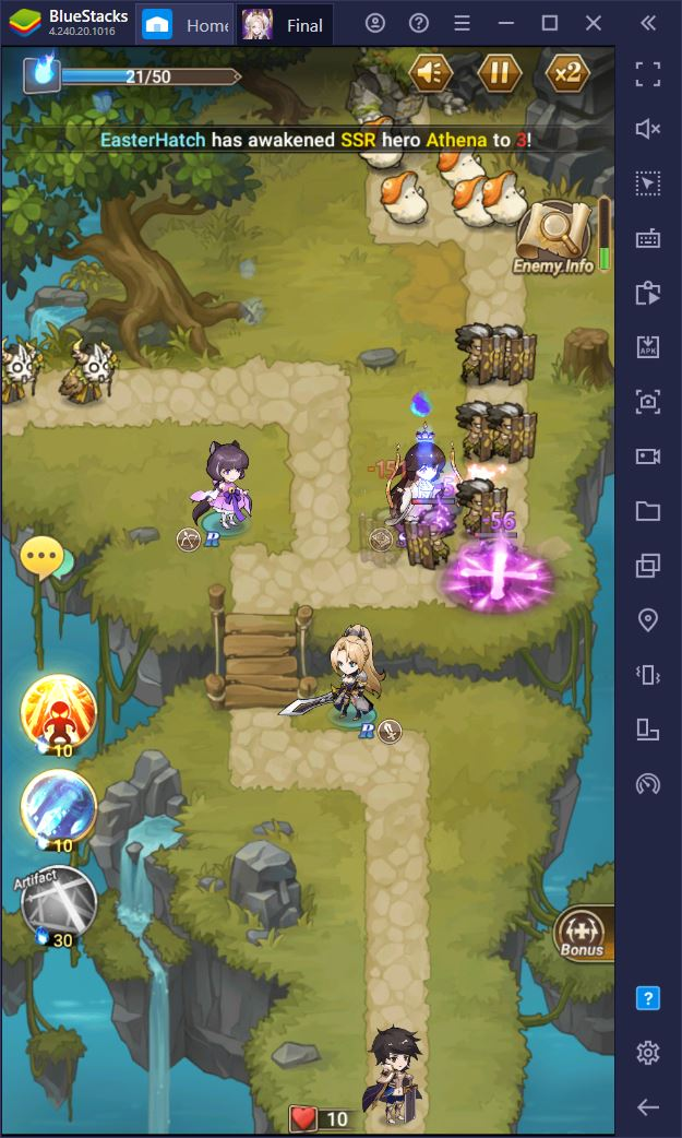 Introduzione a giocare a Final Fate TD su PC con BlueStacks