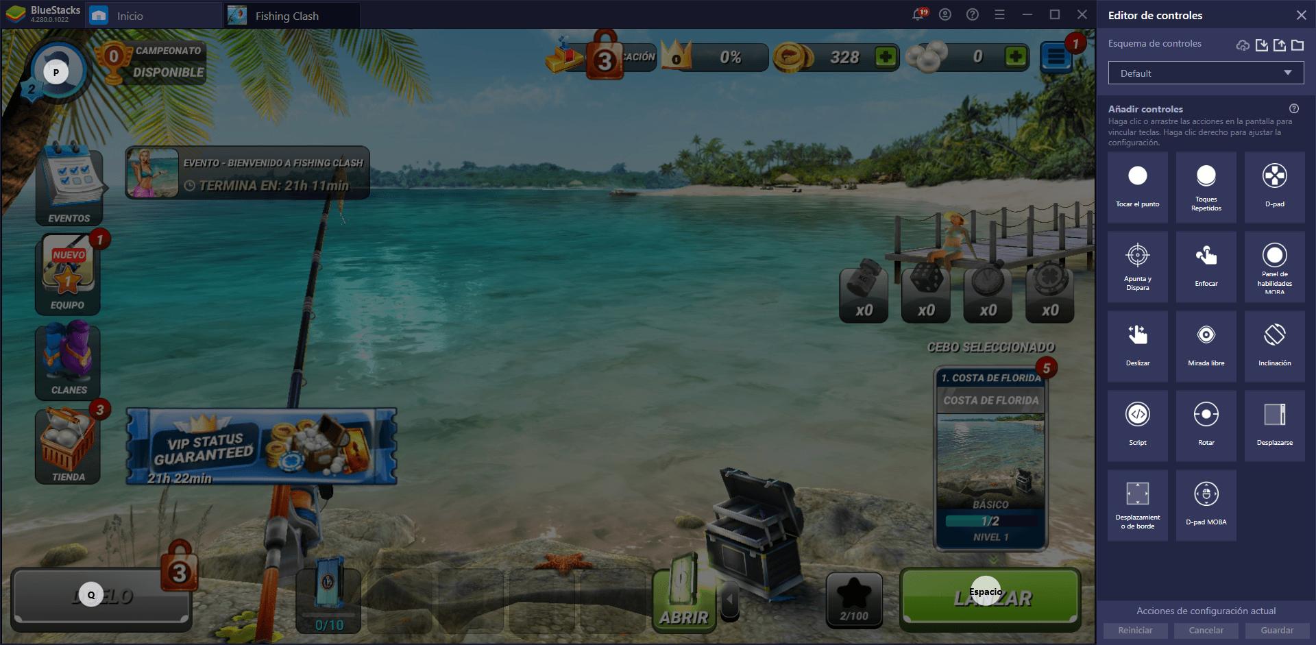 Cómo Jugar Fishing Clash en PC con BlueStacks