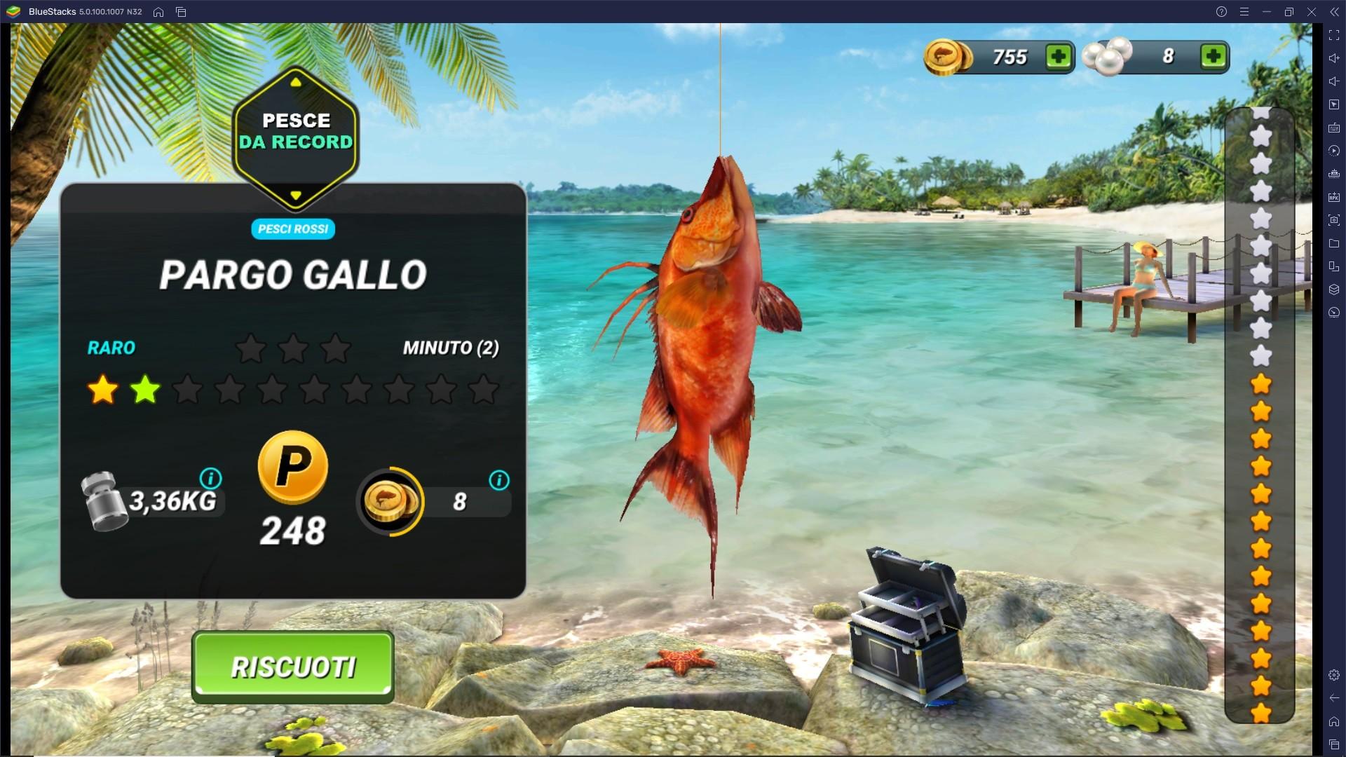Migliora le Canne da Pesca di Fishing Clash!