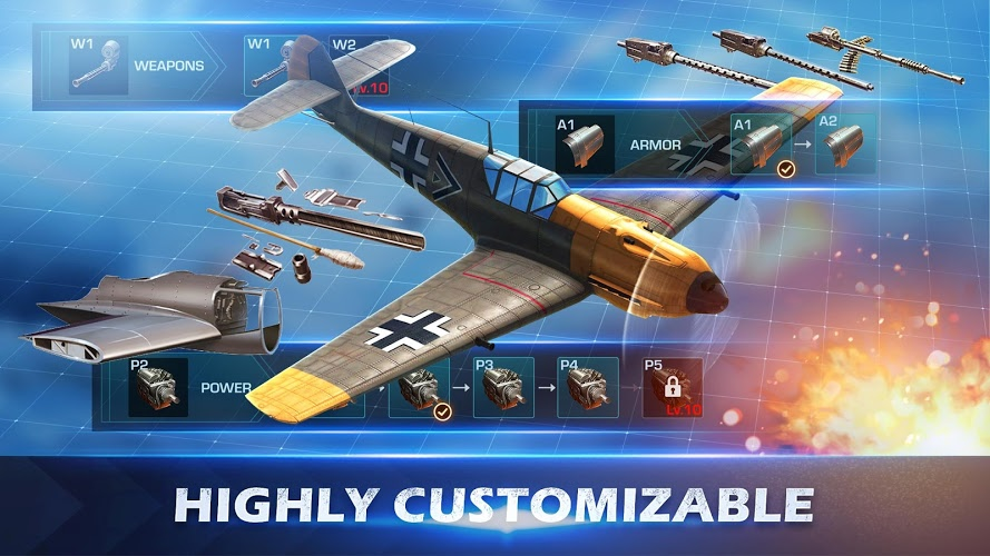 Chơi War Wings on PC 17
