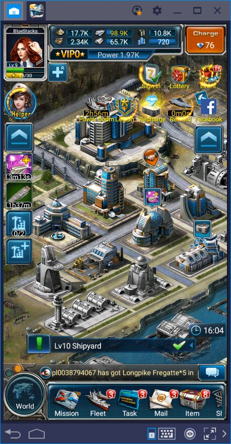 Fleet Command—Destroy the Enemy Fleet with our BlueStacks Tools