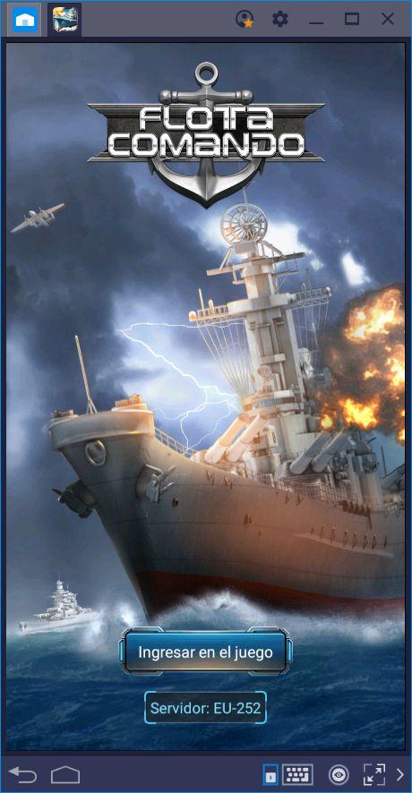 Fleet Command—Destruye la Flota Enemiga con Nuestras Herramientas de BlueStacks