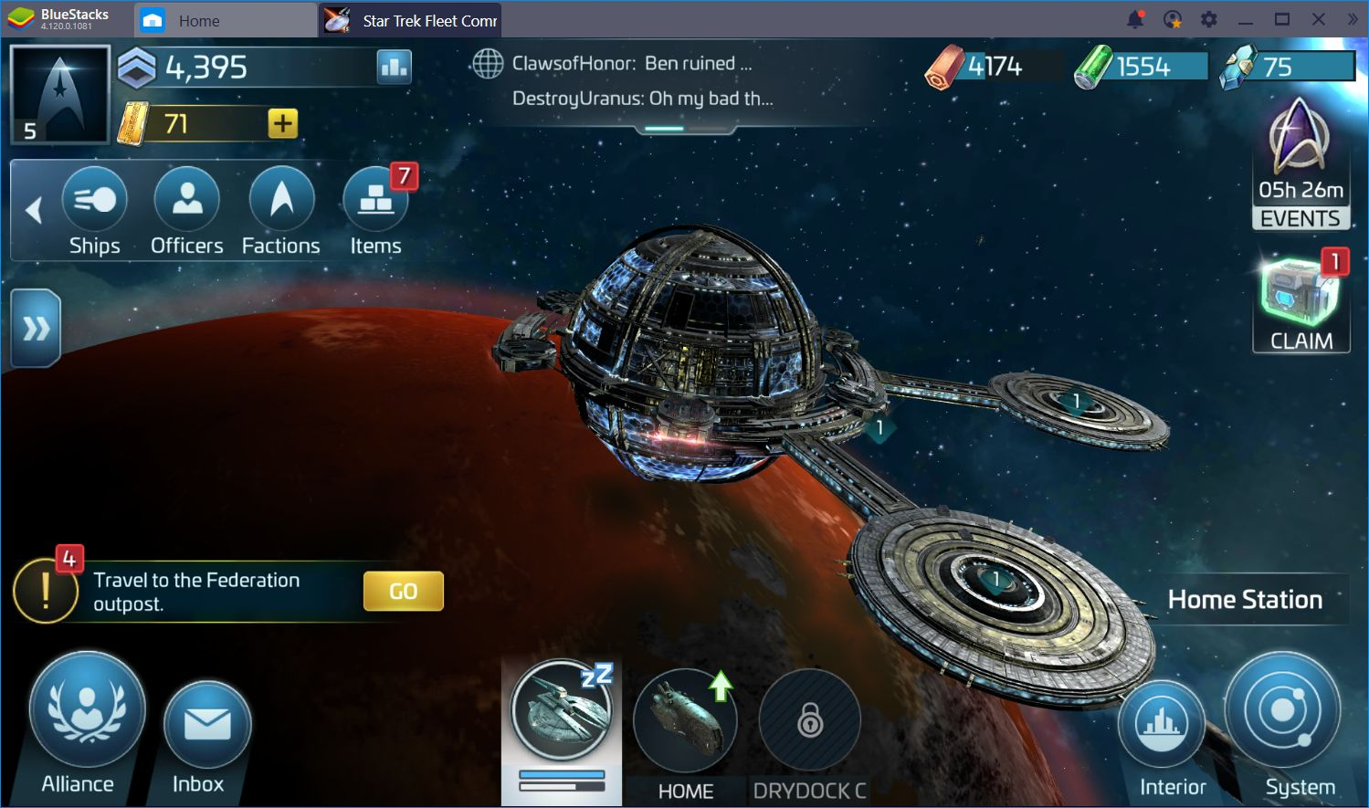 A Peek at the Star Trek Fleet Command Swarm Update