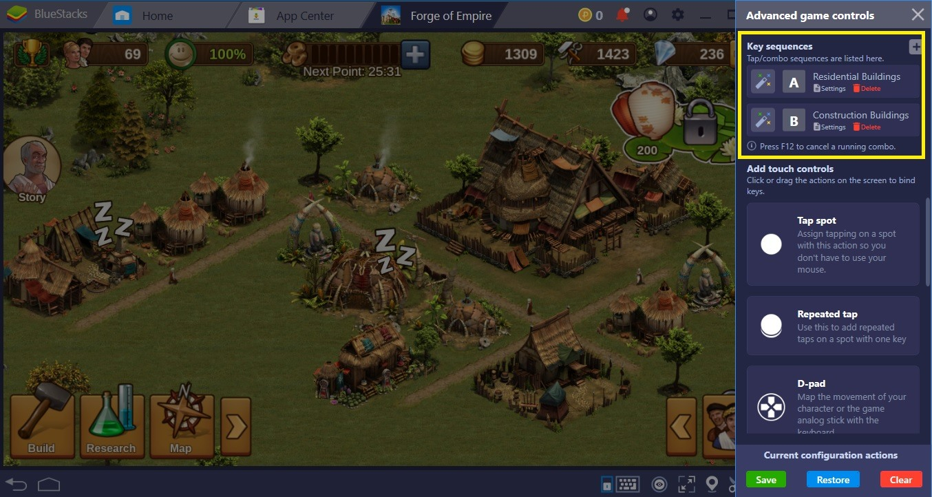 BlueStacks Guide For Forge of Empires