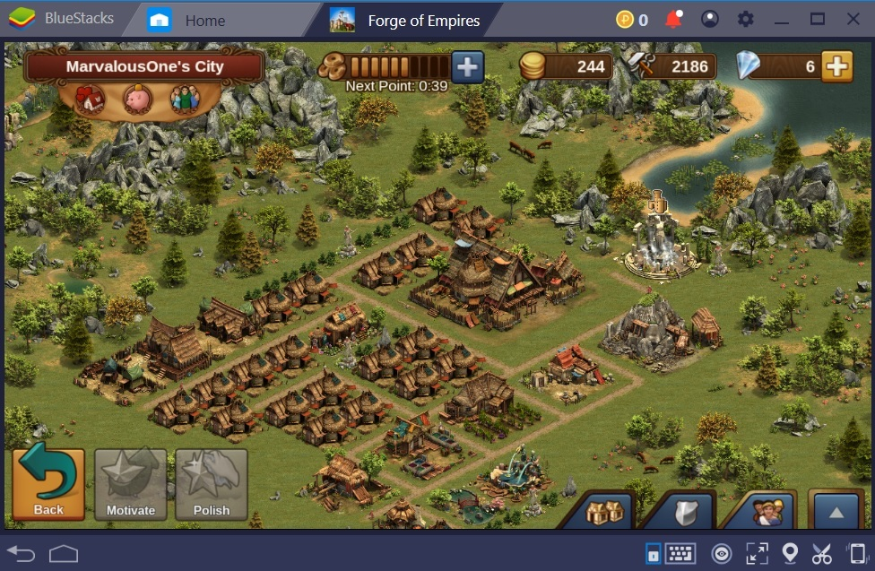 How to Progress Quickly in Forge of Empires Using BlueStacks
