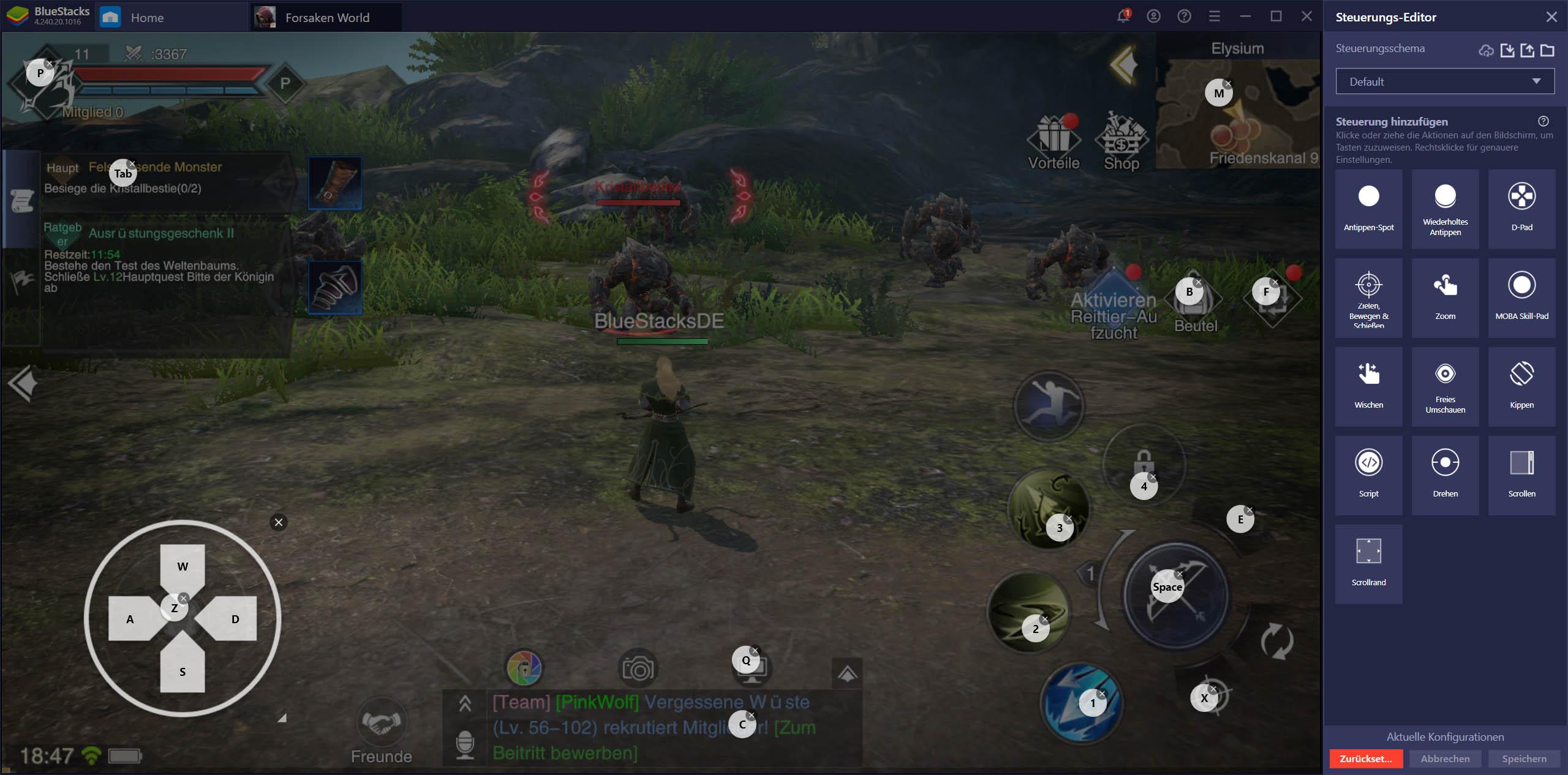 Forsaken World: Gods and Demons auf dem PC – So verwendest du unsere BlueStacks-Werkzeuge für ein noch besseres Spielerlebnis