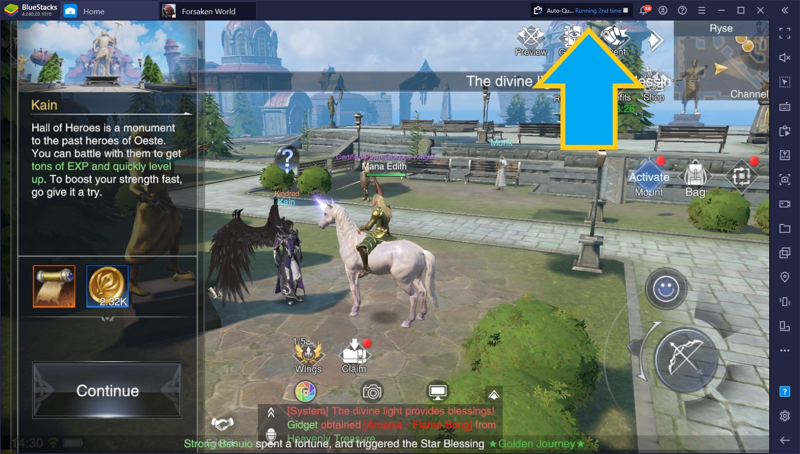 Forsaken World: Gods and Demons on PC – How to Use Our BlueStacks Tools to Improve Your Experience