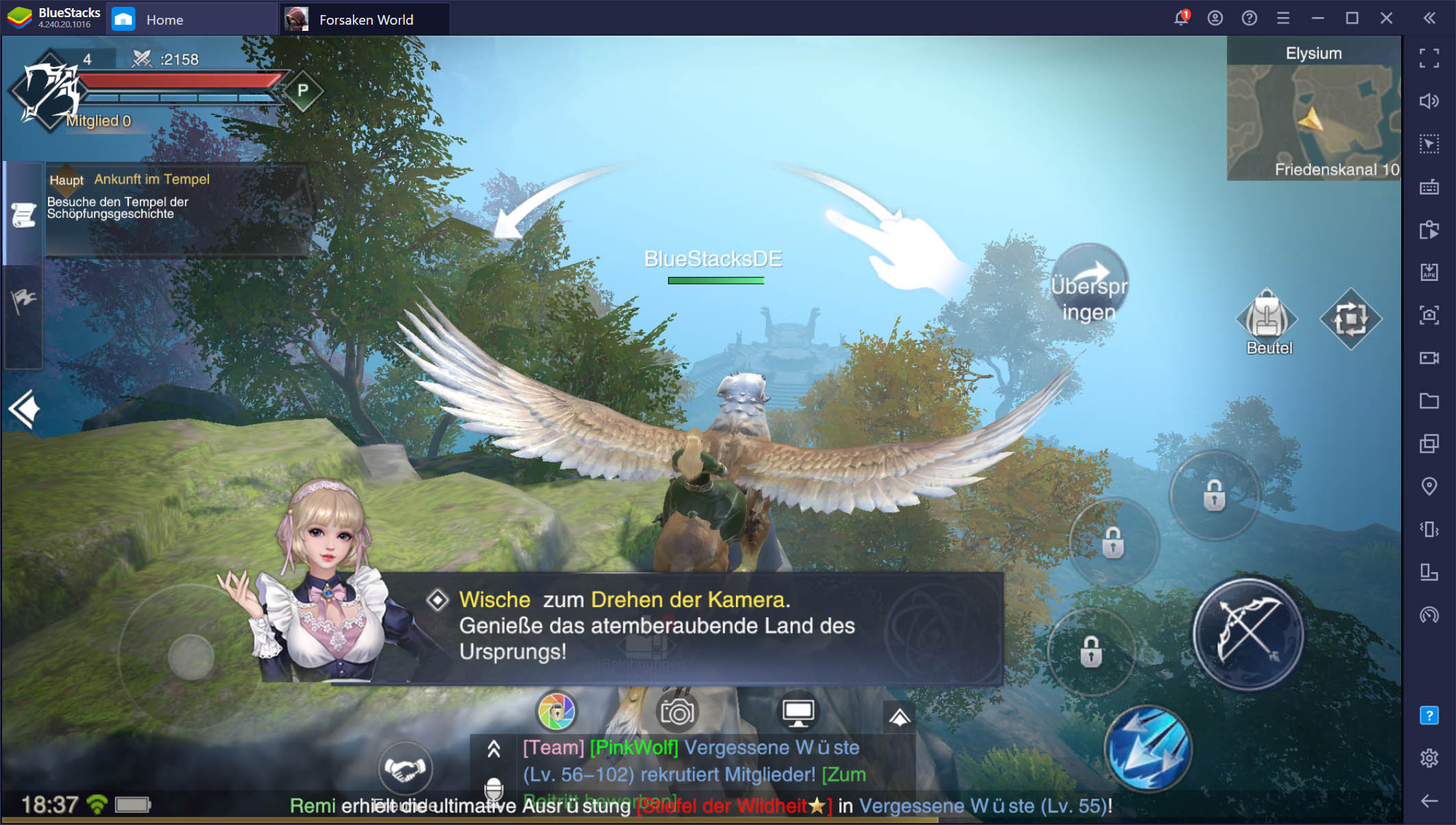 Forsaken World: Gods and Demons auf dem PC – Jetzt verfügbar mit BlueStacks!