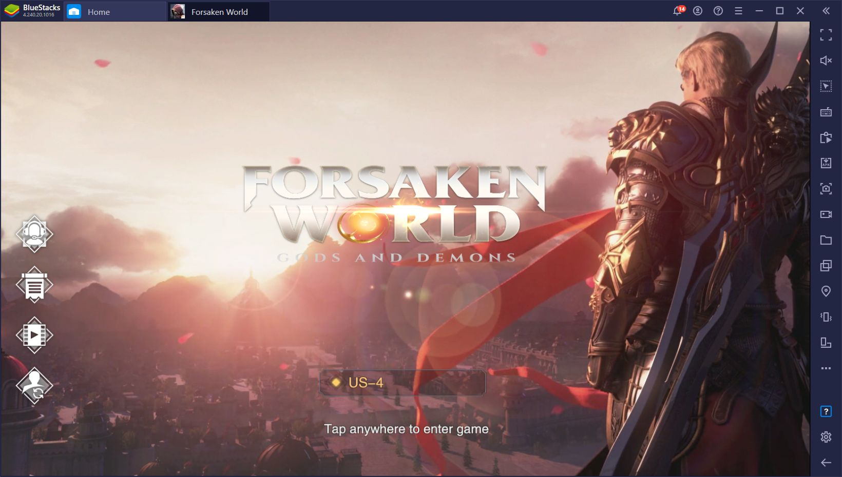 Forsaken World: Gods and Demons Now Available on PC With BlueStacks