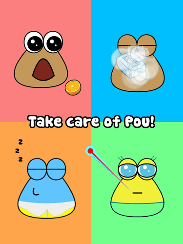 Main Pou on PC 8