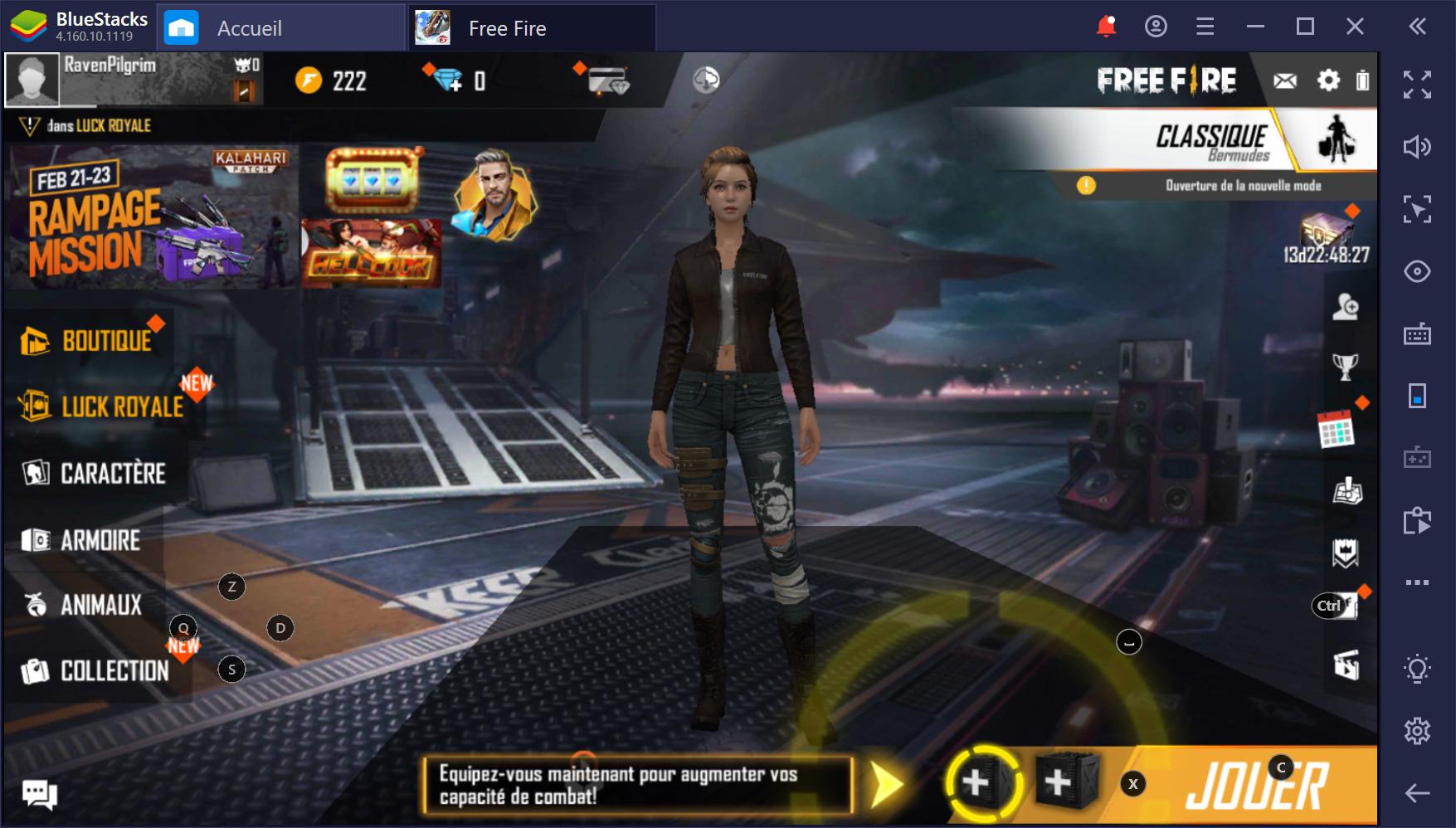 Free Fire sur PC : Guide 2020 sur les armes