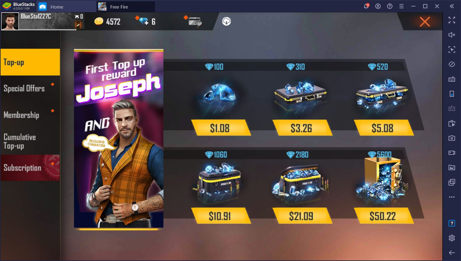 Free Fire Diamond Top Up - How to Top Up Free Fire Diamonds and Get  Exclusive Discounts | BlueStacks
