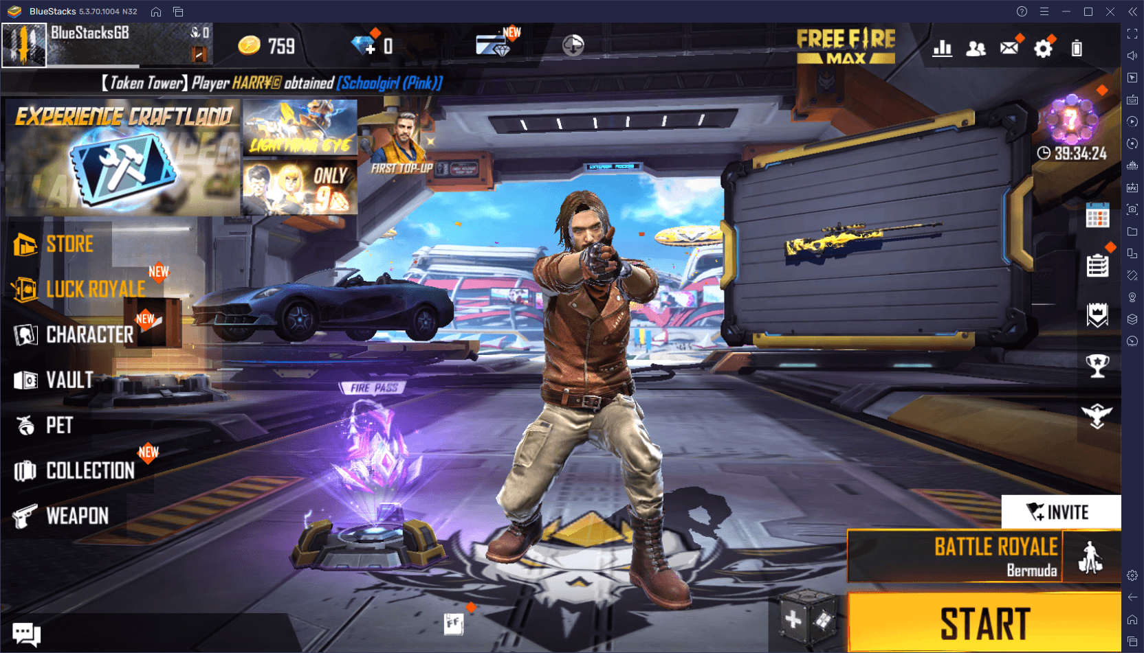 Free Fire MAX on PC – Use BlueStacks to get the Headshots and Booyahs