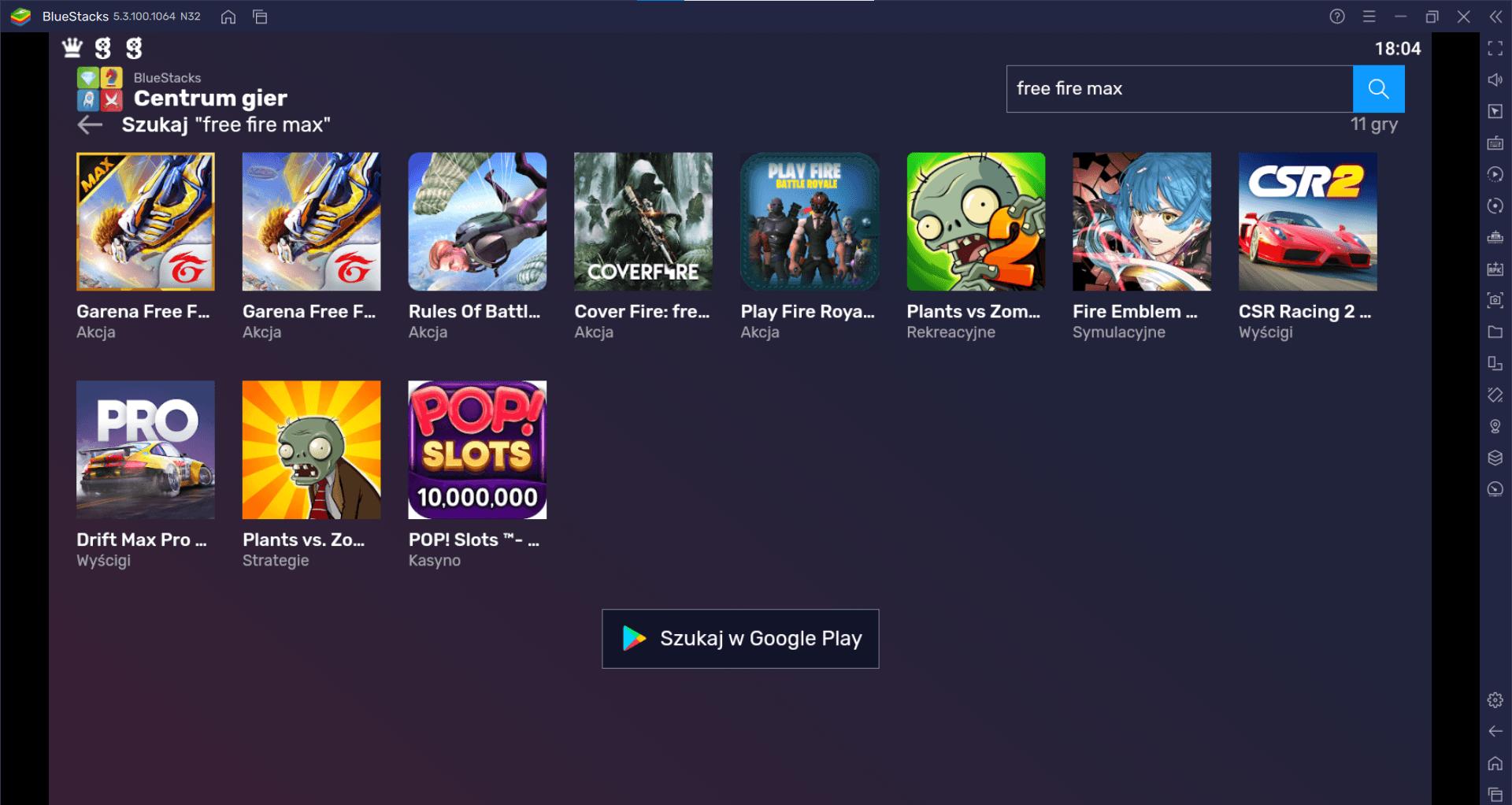 Garena Free Fire MAX – jak zagrać na PC