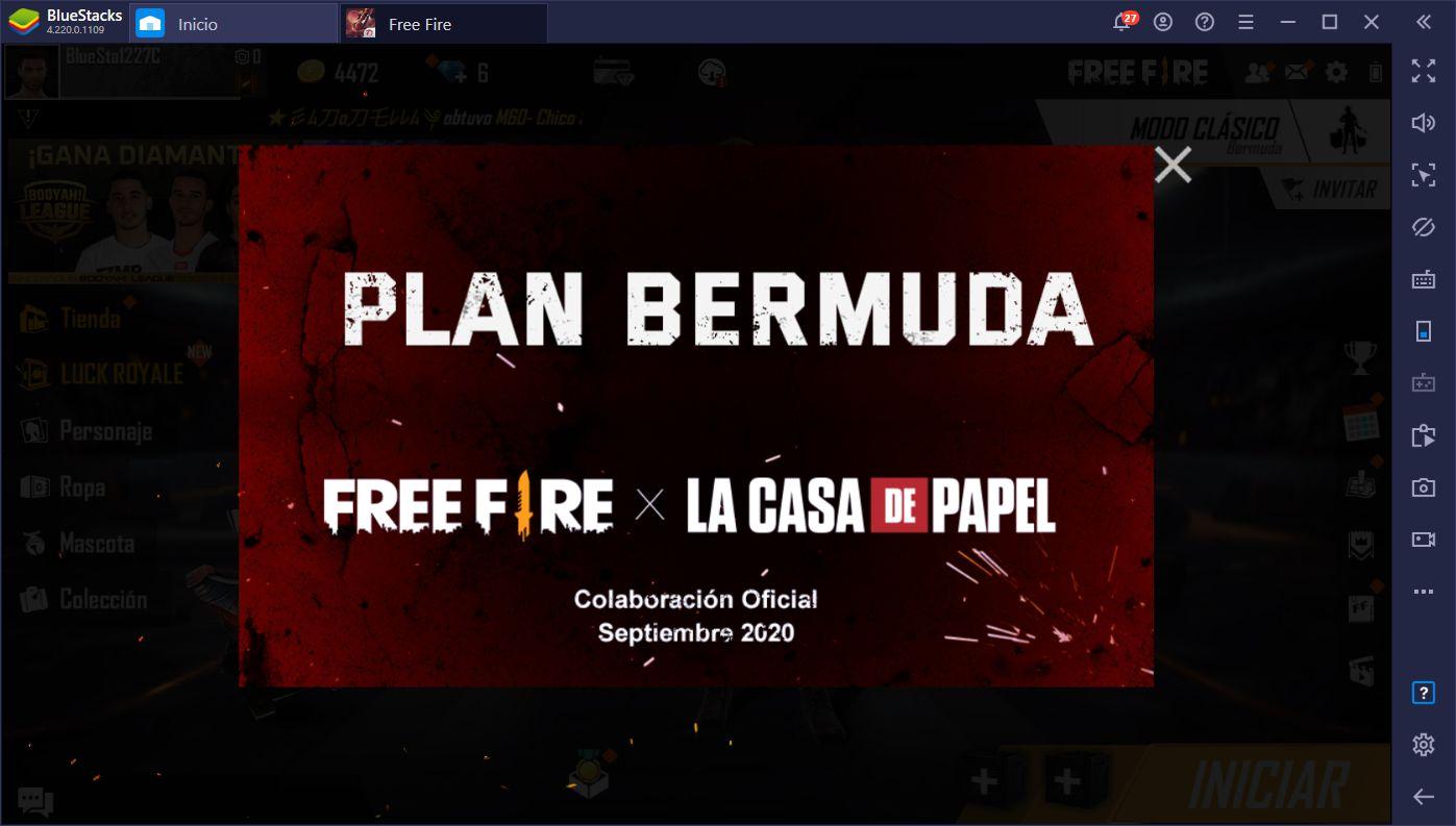 La Actualización OB23 de Garena Free Fire – Colaboración Con 'La Casa de Papel', Nuevos Personajes, y Mucho Más