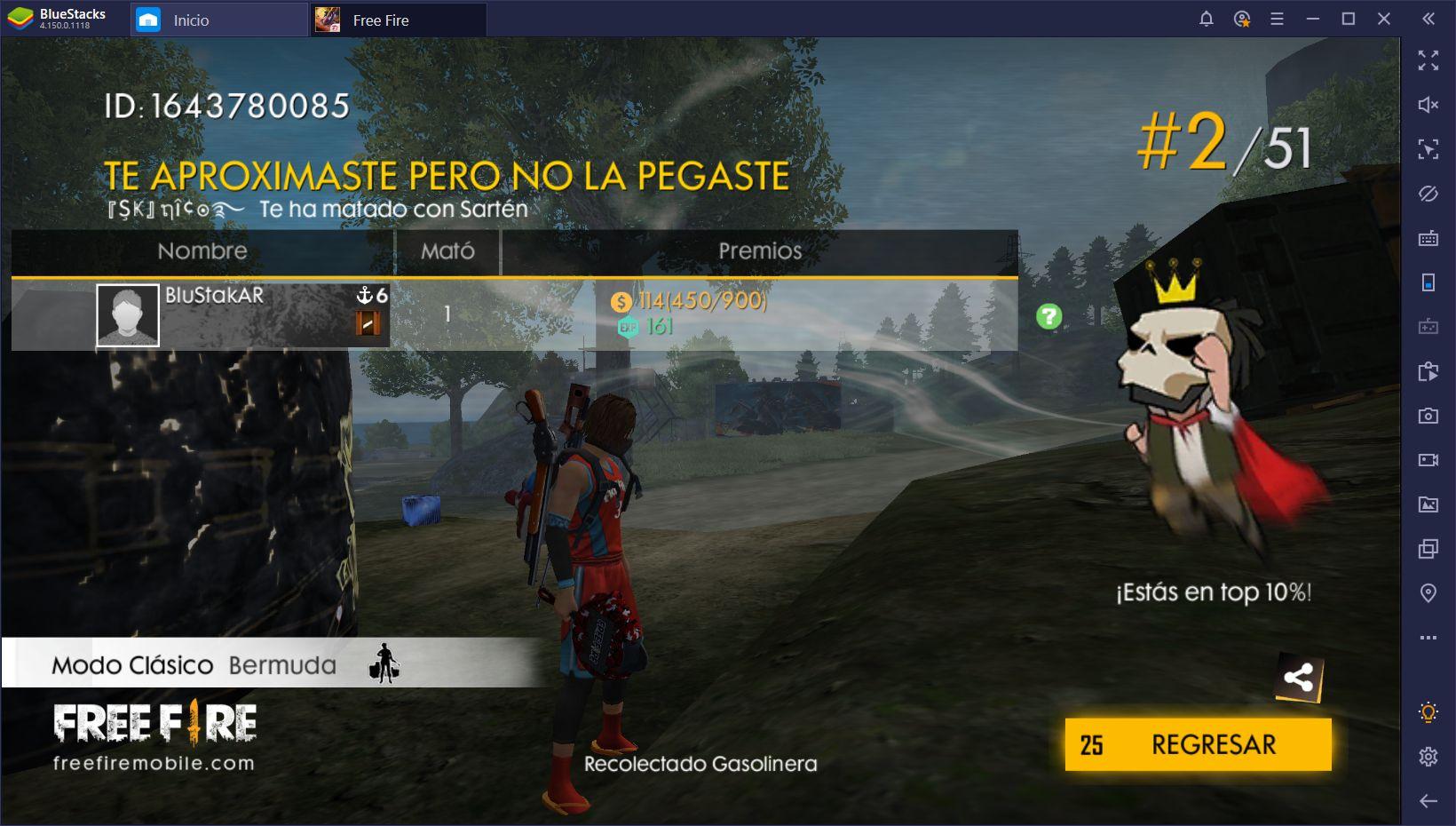 Garena Free Fire en PC - Derrota a la Competencia con BlueStacks