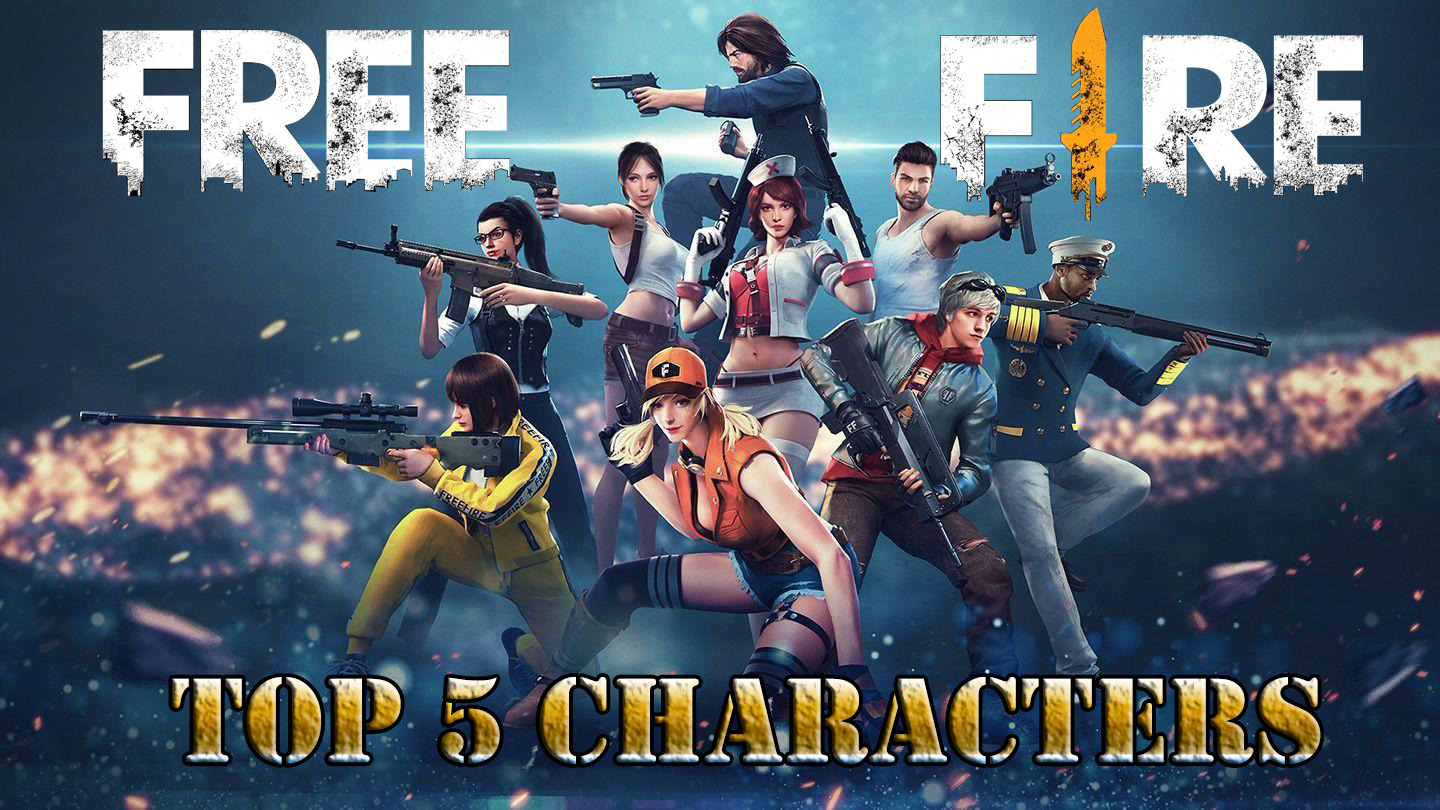 5 Best Characters in Free Fire Game in 2020