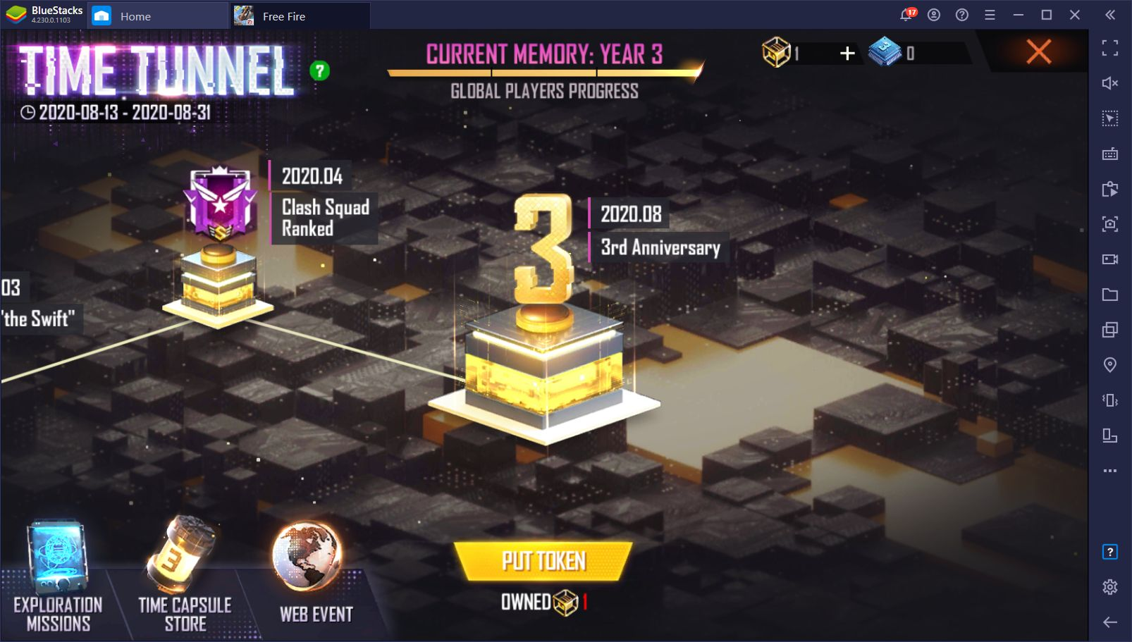 Free Fire 3rd Anniversary – How to Farm Event Currency and Claim Unique Rewards