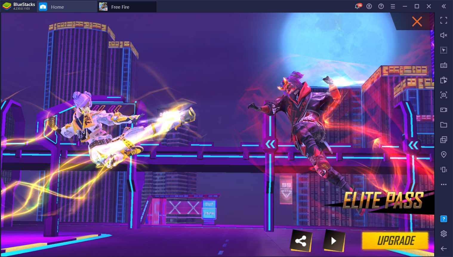 New Free Fire 'Celestial Street' Elite Pass – New Missions, Rewards, and Awesome Outfits