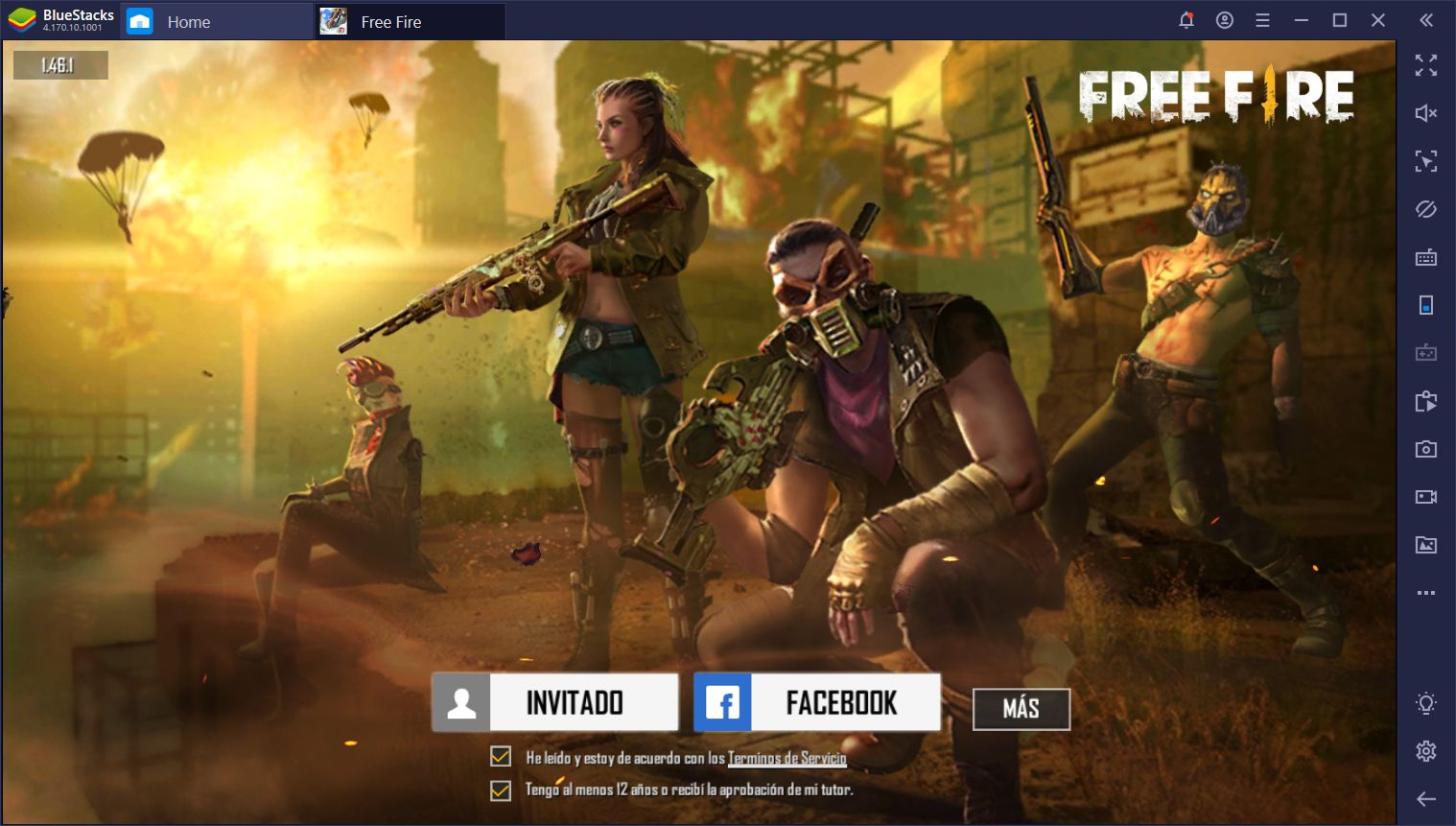Uninterrupted Booyahs in Garena Free Fire with Smart Controls only on BlueStacks