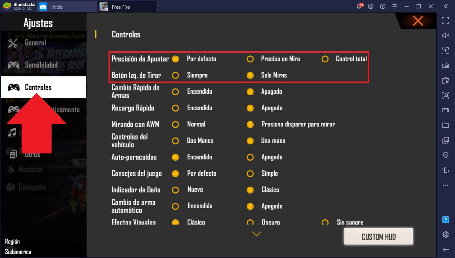 Mejora de Sensibilidad Para Free Fire – La Mejor Configuración de Sensibilidad Para PC