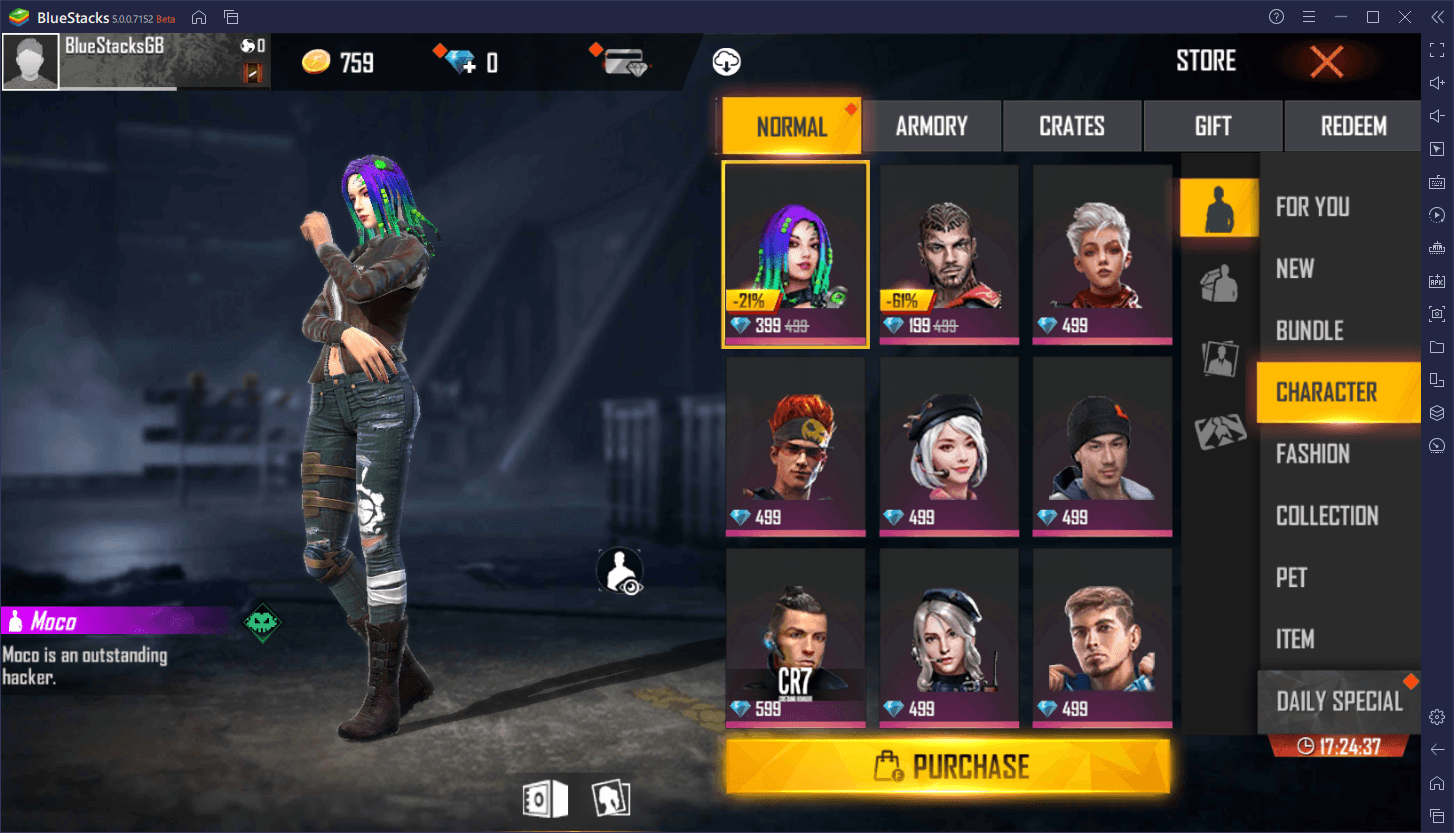 Garena Free Fire – Overview of New Characters 'Skyler' and 'Shirou'