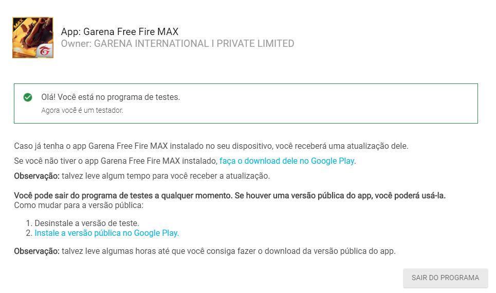Novidades e diferenças do Free Fire Max