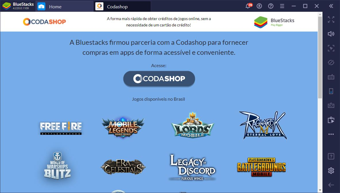 Free Fire no PC – Consiga Descontos Exclusivos em Diamantes com o Codashop e o BlueStacks