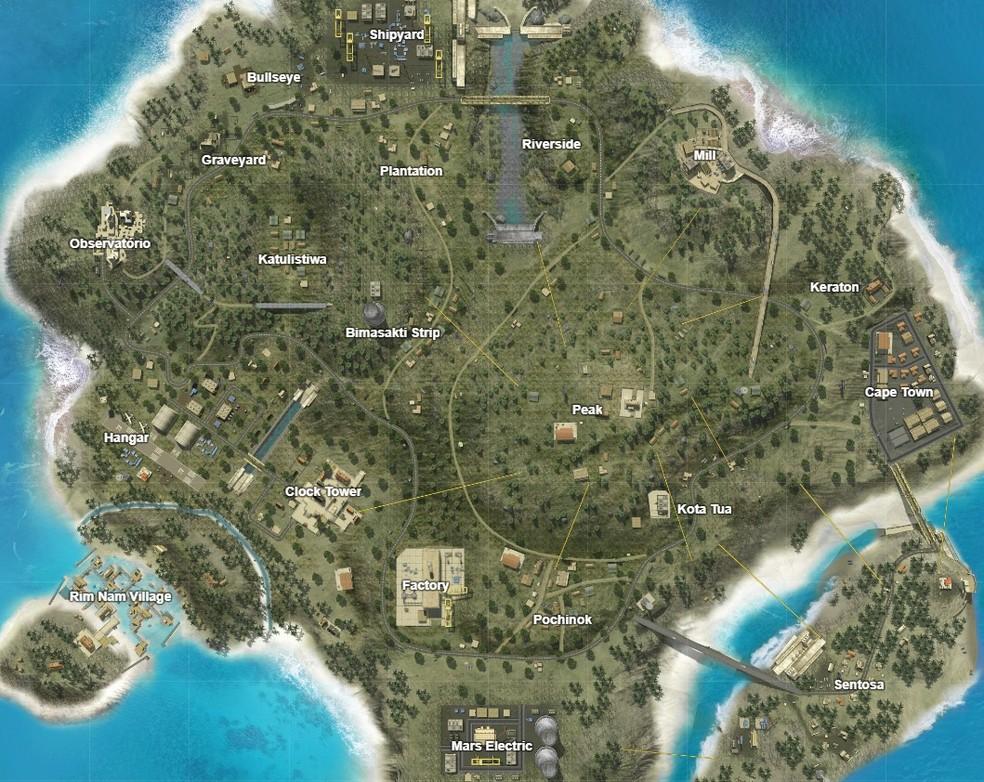 Dicas e macetes para cada mapa do Garena Free Fire